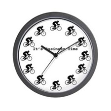 It's Business Time Cyling Wall Clock