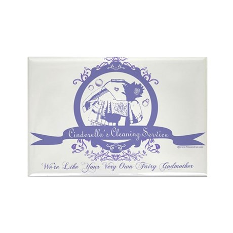 Cinderella's Cleaning Service Rectangle Magnet