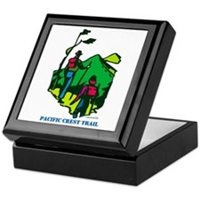 """Pacific Crest Trail Hikers"" Keepsake Box"