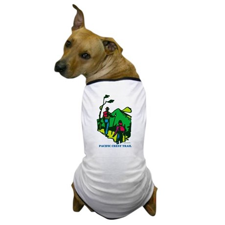 """""""Pacific Crest Trail Hikers"""" Dog T-Shirt"""