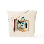 Percy Penguin Tote Bag