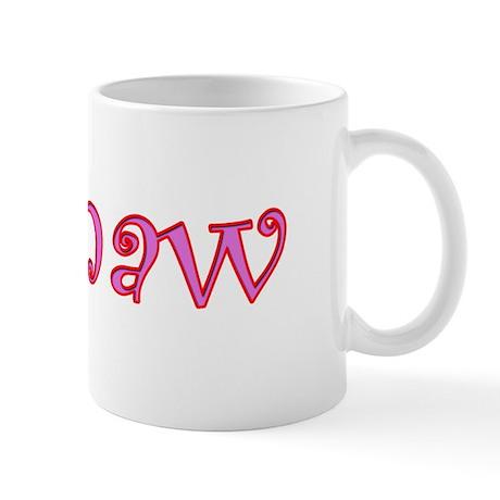 CLICK TO VIEW Mamaw cutout de Mug