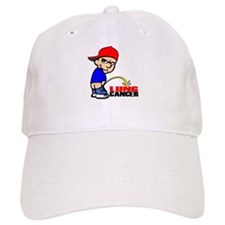 Piss On Lung Cancer Baseball Cap