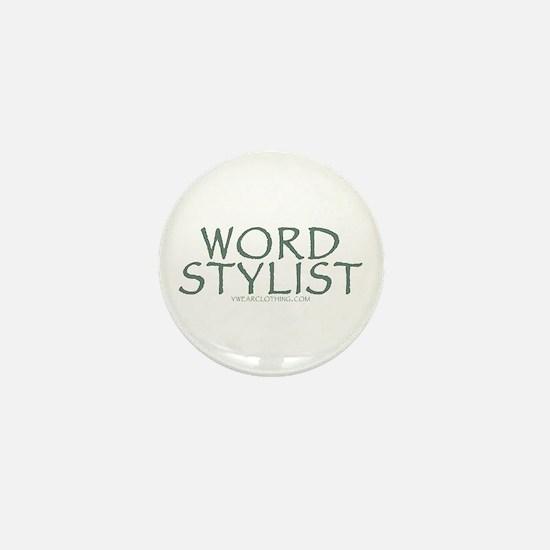 Word Stylist Mini Button