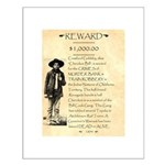 Wanted Cherokee Bill Small Poster