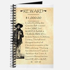 Wanted Cherokee Bill Journal