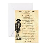 Wanted Cherokee Bill Greeting Cards (Pk of 20)