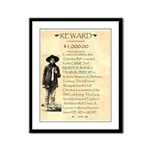Wanted Cherokee Bill Framed Panel Print