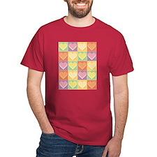 Heart Patchwork T-Shirt
