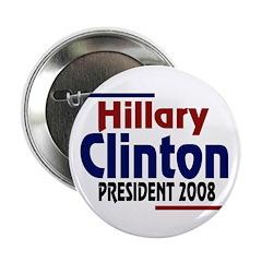 Hillary Clinton President 2008 (100 buttons)