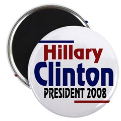 Hillary Clinton President 2008 (10 magnets)