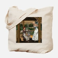 Cinderella and Her Godmother Tote Bag