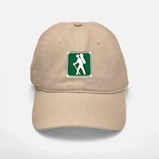 """Pacific Crest Trail Hiker"" Baseball Baseball Cap"