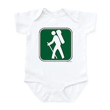 """""""Pacific Crest Trail Hiker"""" Infant Bodysuit"""