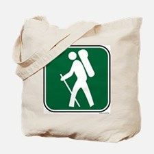 """""""Pacific Crest Trail Hiker"""" Tote Bag"""