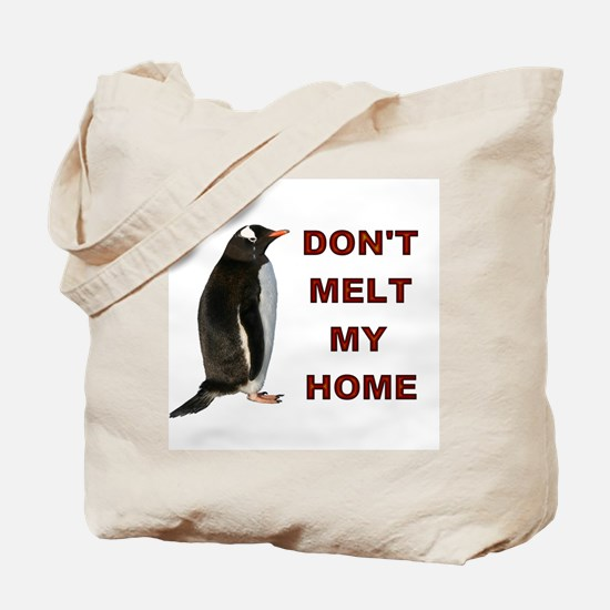 Global Warming Penguin Reusable Shopping Bag