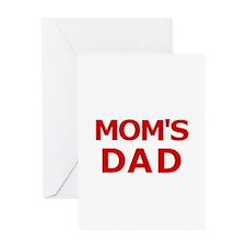 Mom's Dad 2 Greeting Card