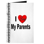 I Love My Parents Journal