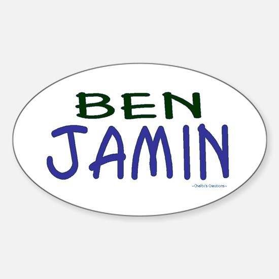 Benjamin Sticker (Oval)