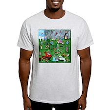 Corgilot Pembroke Welsh Corgi Ash Grey T-Shirt