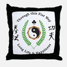 Kajukenbo Crest Throw Pillow