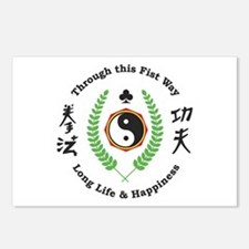 Kajukenbo Crest Postcards (Package of 8)