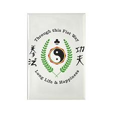 Kajukenbo Crest Rectangle Magnet (100 pack)