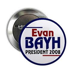 Evan Bayh for President 2008 (Button)