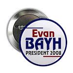 Evan Bayh President 2008 (10 buttons)