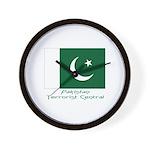 Pakistan Wall Clock