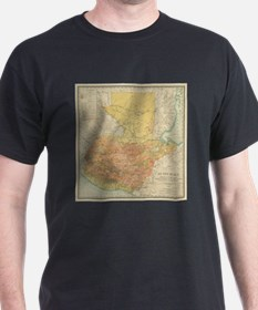 Vintage Map of Guatemala (1902) T-Shirt