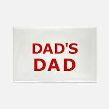 Dad's Dad 2 Rectangle Magnet (10 pack)