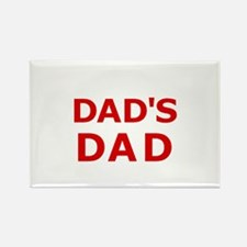Dad's Dad 2 Rectangle Magnet