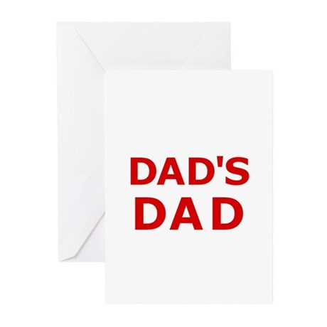 Dad's Dad 2 Greeting Cards (Pk of 10)