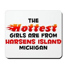 Hot Girls: Harsens Isla, MI Mousepad