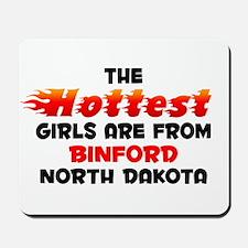 Hot Girls: Binford, ND Mousepad