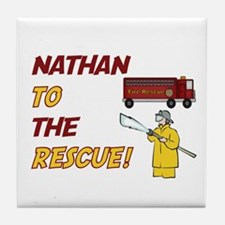 Nathan to the Rescue!  Tile Coaster