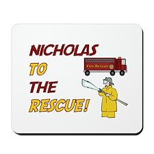 Nicholas to the Rescue! Mousepad