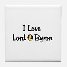Lord Byron Tile Coaster