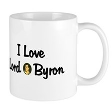 Lord Byron Small Mug