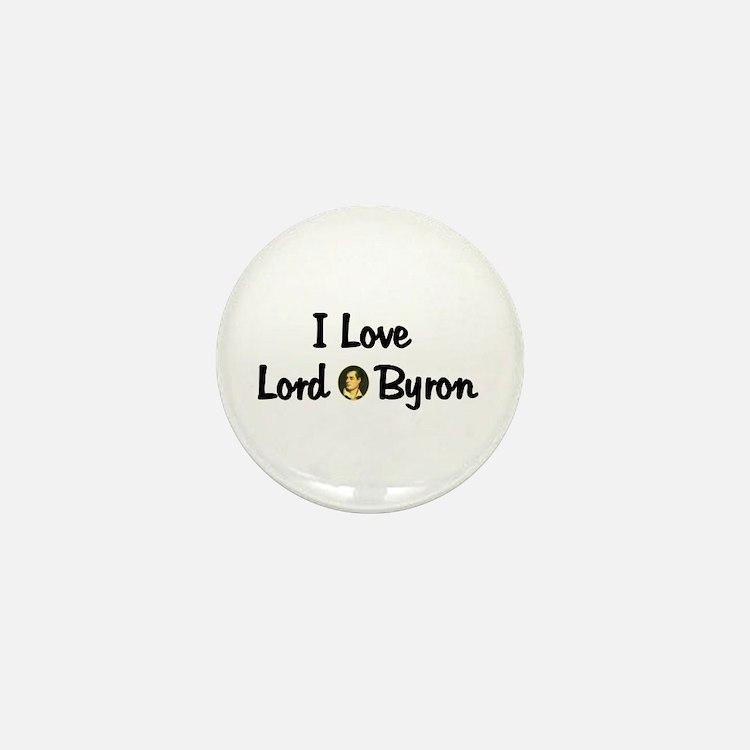 Lord Byron Mini Button