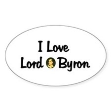 Lord Byron Oval Decal