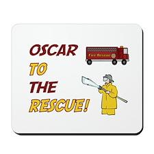 Oscar to the Rescue! Mousepad