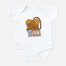 Lady Tiger Hoops Englum Infant Bodysuit
