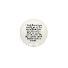Cute Dave barry Mini Button (100 pack)