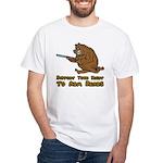 Arm Bears White T-Shirt
