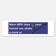 More MPG than your hybrid diesel bumper sticker
