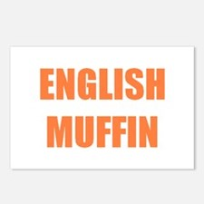 English Muffin Postcards (Package of 8)