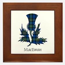 Thistle - MacEwan Framed Tile