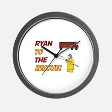 Ryan to the Rescue!  Wall Clock
